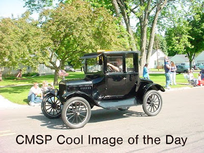 The first production model T