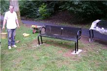 New benches paid for by People's Millions and local people
