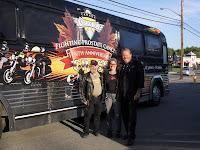 Hubby and I with Wayne Rostad & Bertha the Bu