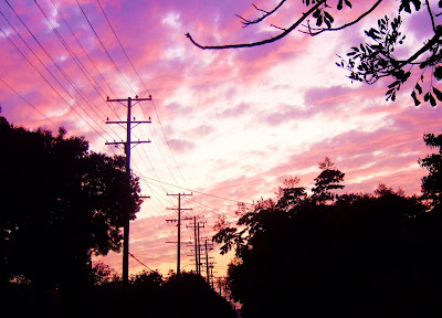 sunset+telephone+poles+train+tracks Everyday Wonder  photo