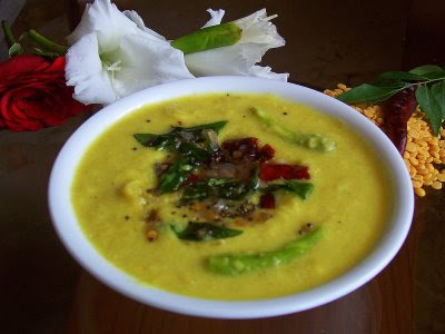 Nadan Parippu Curry