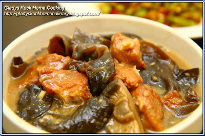 Stewed Hakka Fried Pork Belly with Black Fungus Homecooked Recipe