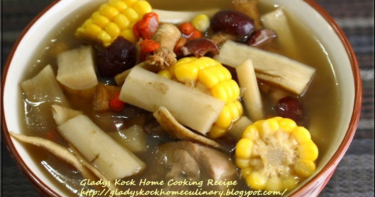 Easy asian food recipes great burdock soup with corn and - Cuisine easy saint orens ...