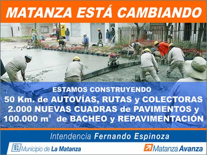Paginas de verdad municipalidad de la matanza informa for Municipalidad la matanza