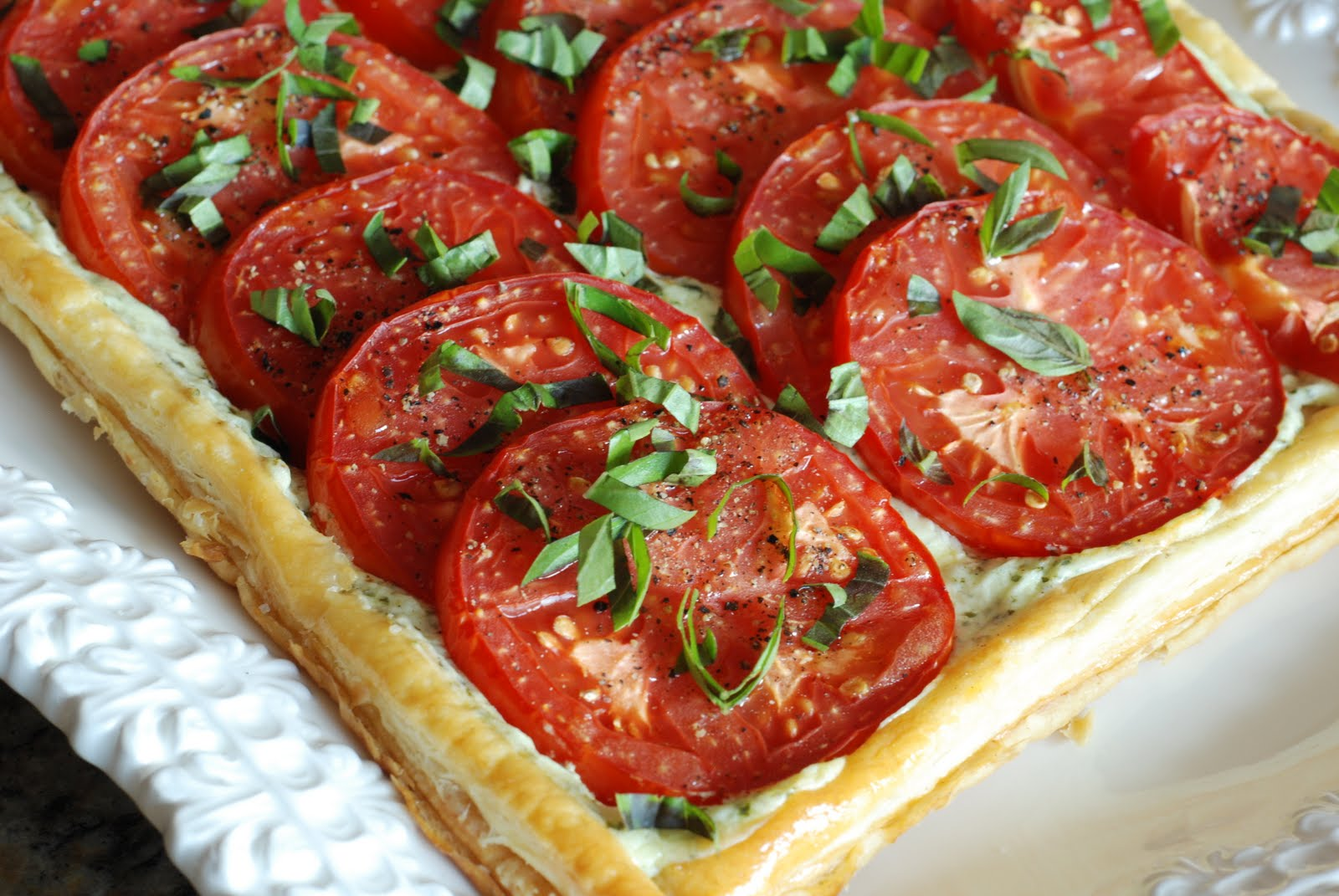 Simply So Good: Fresh Tomato and Basil Tart