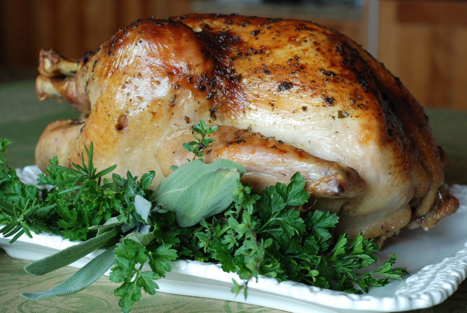 Roast Turkey with Apple Cider Gravy - Simply So Good