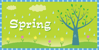 free spring clip art banner
