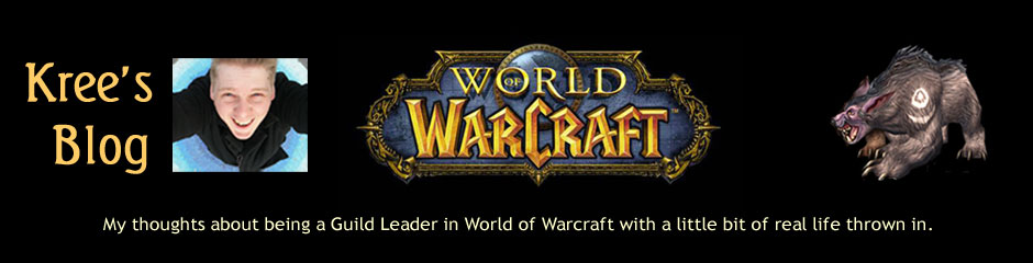 Kree's World of Warcraft Guild Leader Blog
