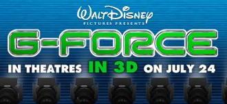 Disney G-Force Grand-Slam Sweepstakes