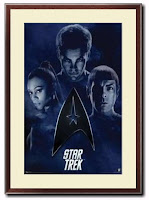 The Good Movie Reviewer Custom Framed Star Trek Movie Poster Giveaway