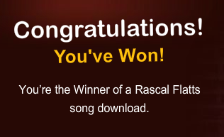HERSHEY'S Rocks Your Block with Rascal Flatts Instant Win Game