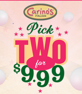 Play Pick 2 Game from Carino's Italian Restaurant