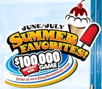NFRA Summer Favorites Instant Win Game