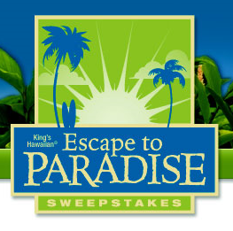 King's Hawaiian Escape to Paradise Sweepstakes
