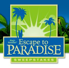 King's Hawaiian Escape to Paradise Sweepstakes
