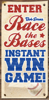 Bob Evans Race the Bases Instant Win Game