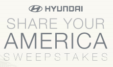 Hyundai Share Your America Sweepstakes