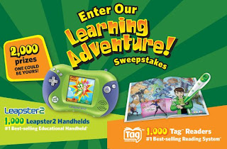 Leap Frog Learning Adventure Sweepstakes