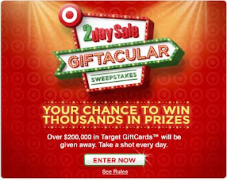 Target 2day Sale Giftacular Sweepstakes