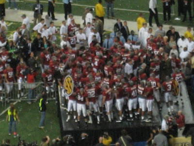 2009 SEC Championship Dr Pepper Sponsored Trip Win - Alabama Wins