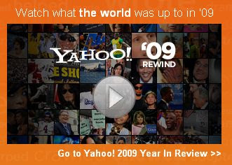 Yahoo! Year in Review Twitter Giveaway