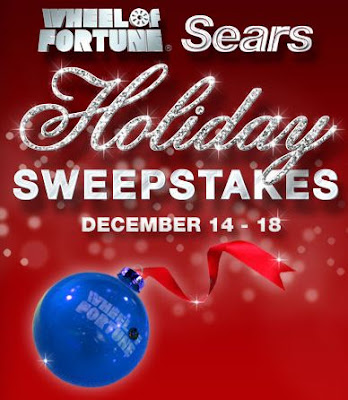 Wheel of Fortune Sears Holiday Sweepstakes