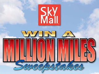 SkyMall's Win a Million Miles Sweepstakes