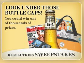 MGD64 Resolutions 2010 Under The Cap Sweepstakes