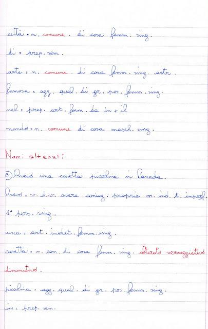 analisi grammaticale. i nomi: propri, comuni, alterati, collettivi ... - Giardino Piccolo Nome Alterato