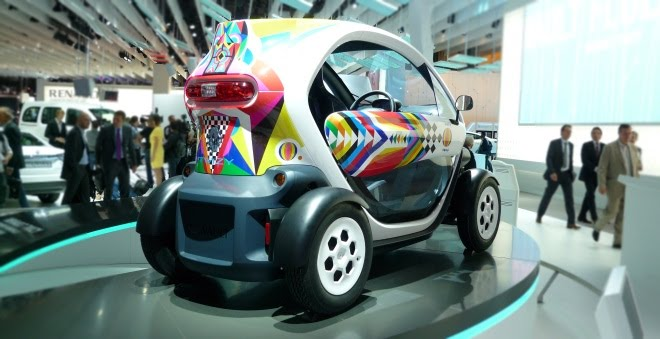 Renault Twizy production rear