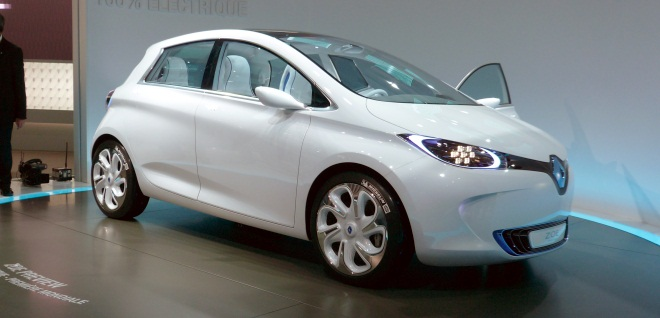 Renault Zoe Preview front
