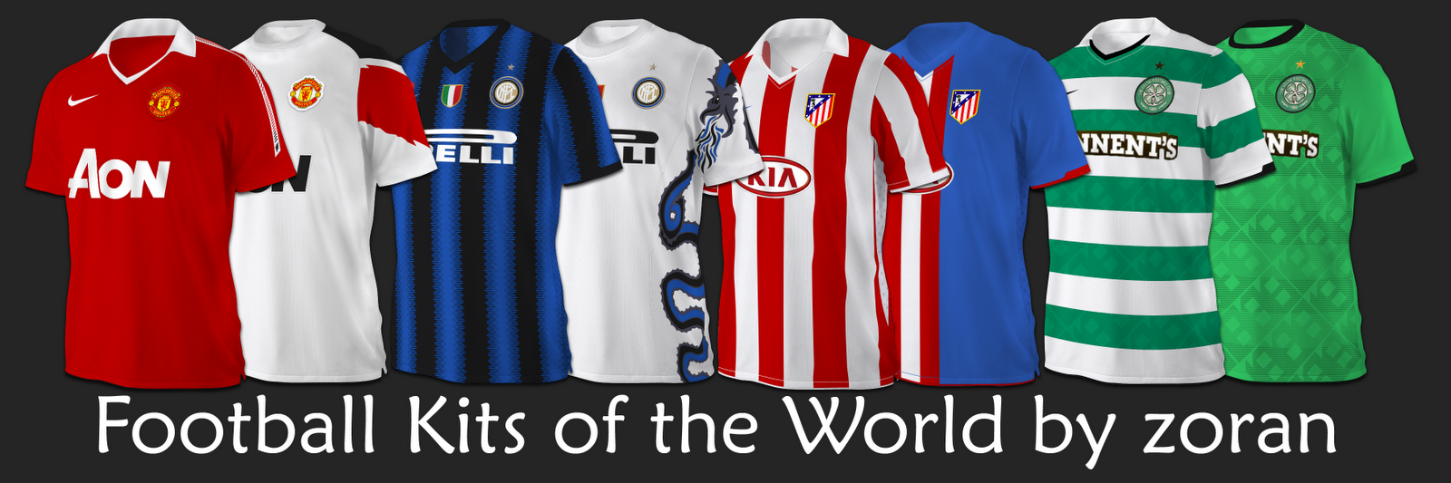 football kits of the world
