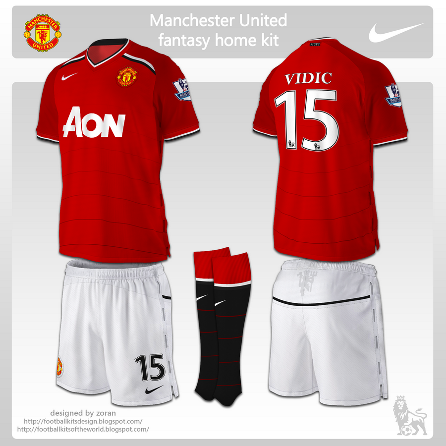Design t shirt manchester united - Design T Shirt Manchester United Re Fantasy Man United Kit 2013 2014