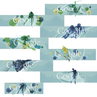 Google Search Interface - Vancouver Olympics Theme