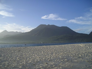 view of camiguin from white island