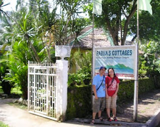 doms & mye at Pabuas Cottages, Camiguin