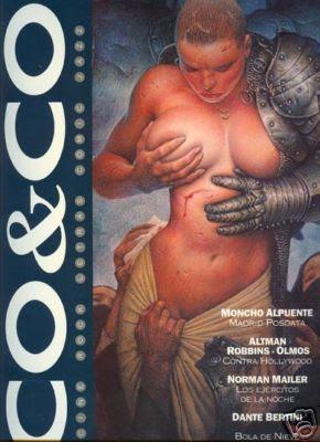 Tapa de la revista española CO&CO, ilustrada por Chichoni