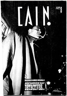 Suplemento Caín N° 8, Revista Humor, 1987