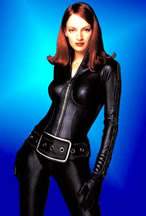 Uma Thurman en el film Avengers