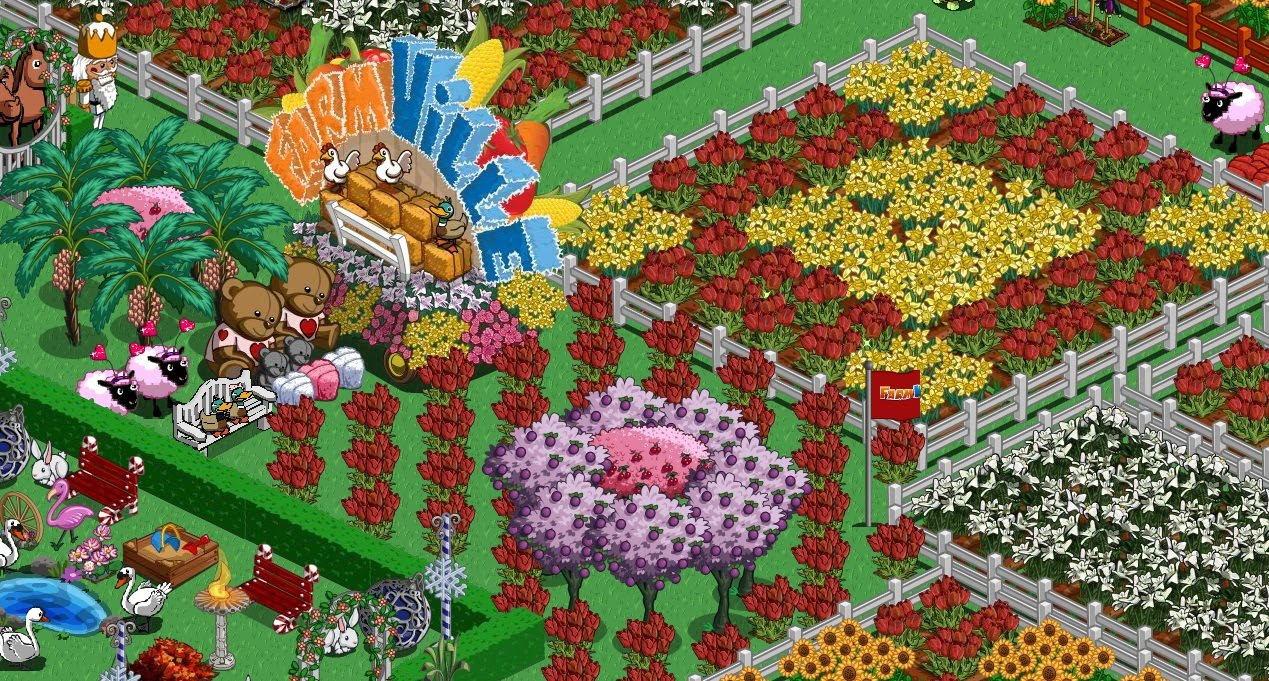The pretty geeks farmville decoration pics for Farmville 2 decorations