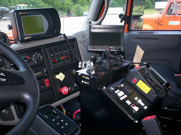 Winter Maintenance Truck Controls