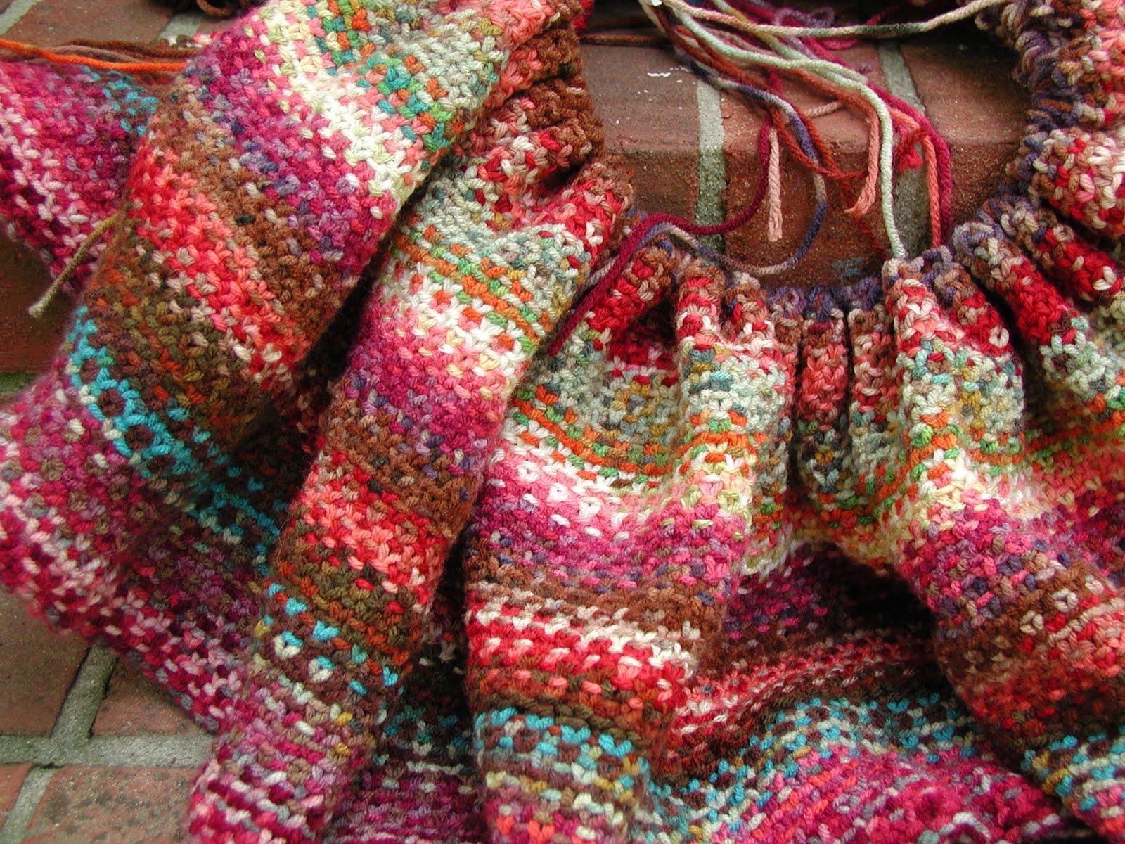 Fiddlesticks My Crochet And Knitting Ramblings Variegated Yarn