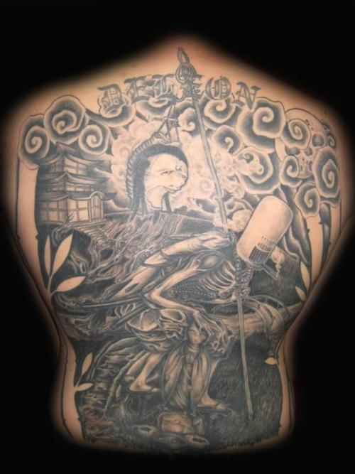 Back Piece Tattoo. Back Piece Tattoo. Posted by tattoo body art at 10:08 AM