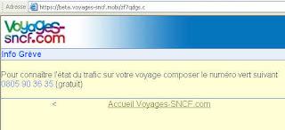 Application mobile voyages-sncf.com