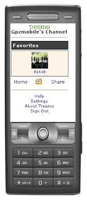 Exemple application Treemo