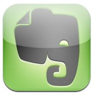 Evernote : cloud application pour Iphone