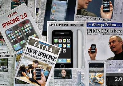 La sortie de l'iPhone