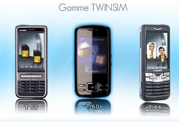 Gamme de téléphones mobiles Global High Tech