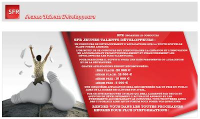 SFR Jeunes Talents Développeurs