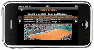 TV d'Orange sur iphone
